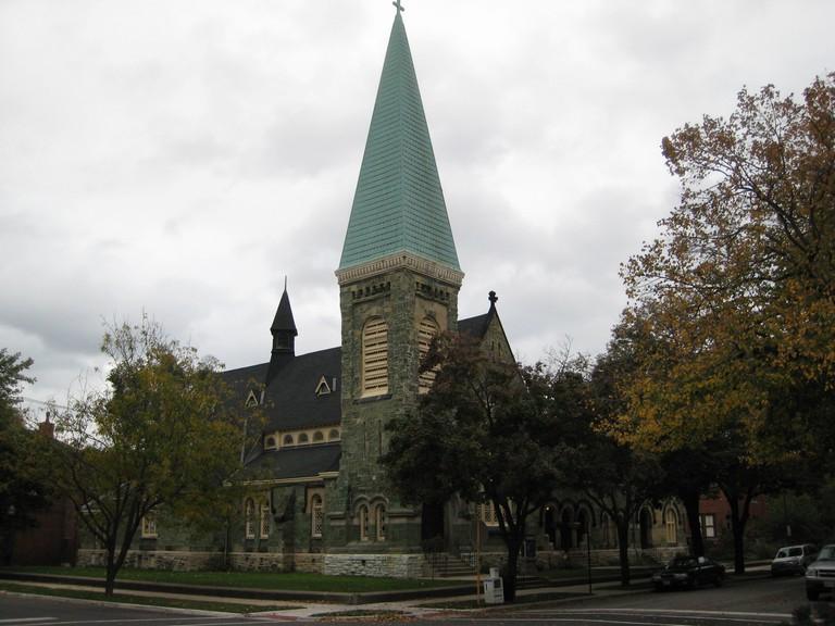 Greenstone church