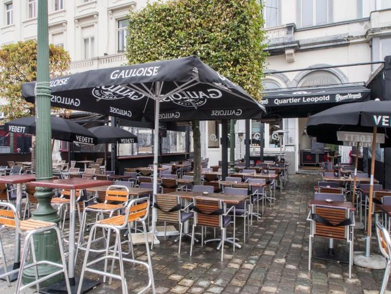 Quartier Léopold's terrace | Courtesy of Quartier Léopold