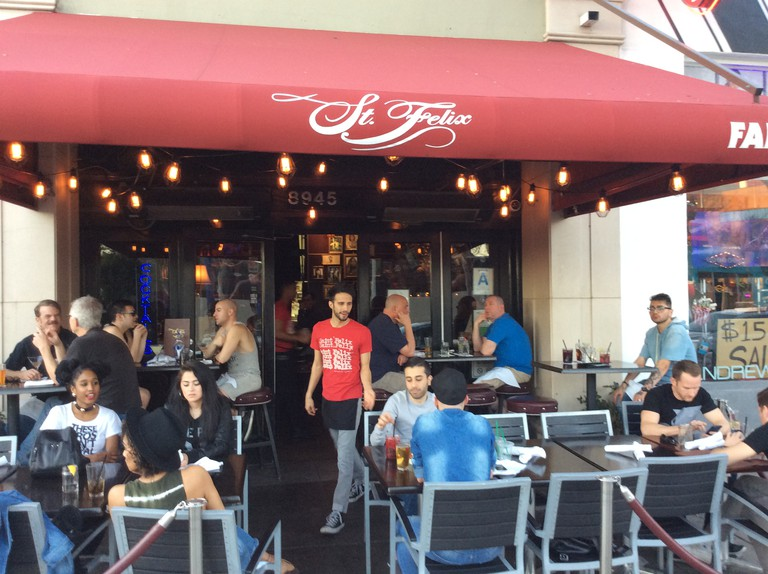 St. Felix is a popular spot for happy hour.