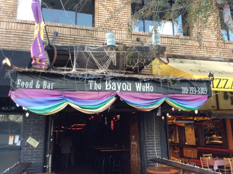 The Bayou, always decked out for the party