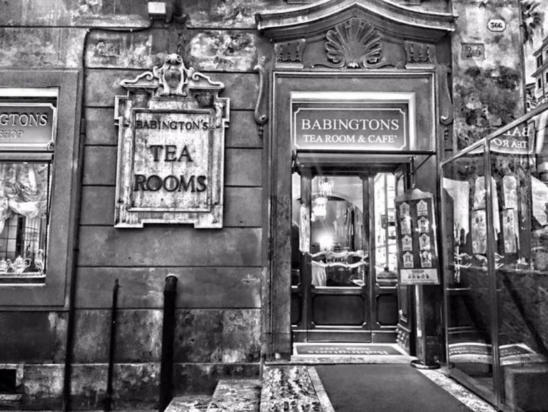 Sala da tè Babington