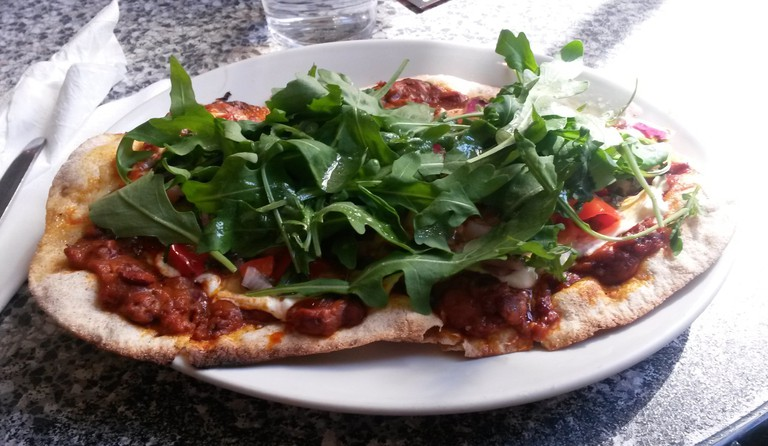 Pizza with Pizzazz at Bath's Chapel Arts Cafe