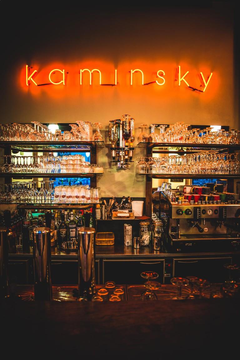 Kaminsky's front bar