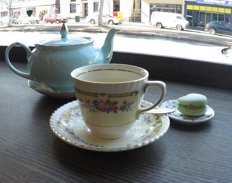 Porcelain Tea Parlour   Erin Leeder