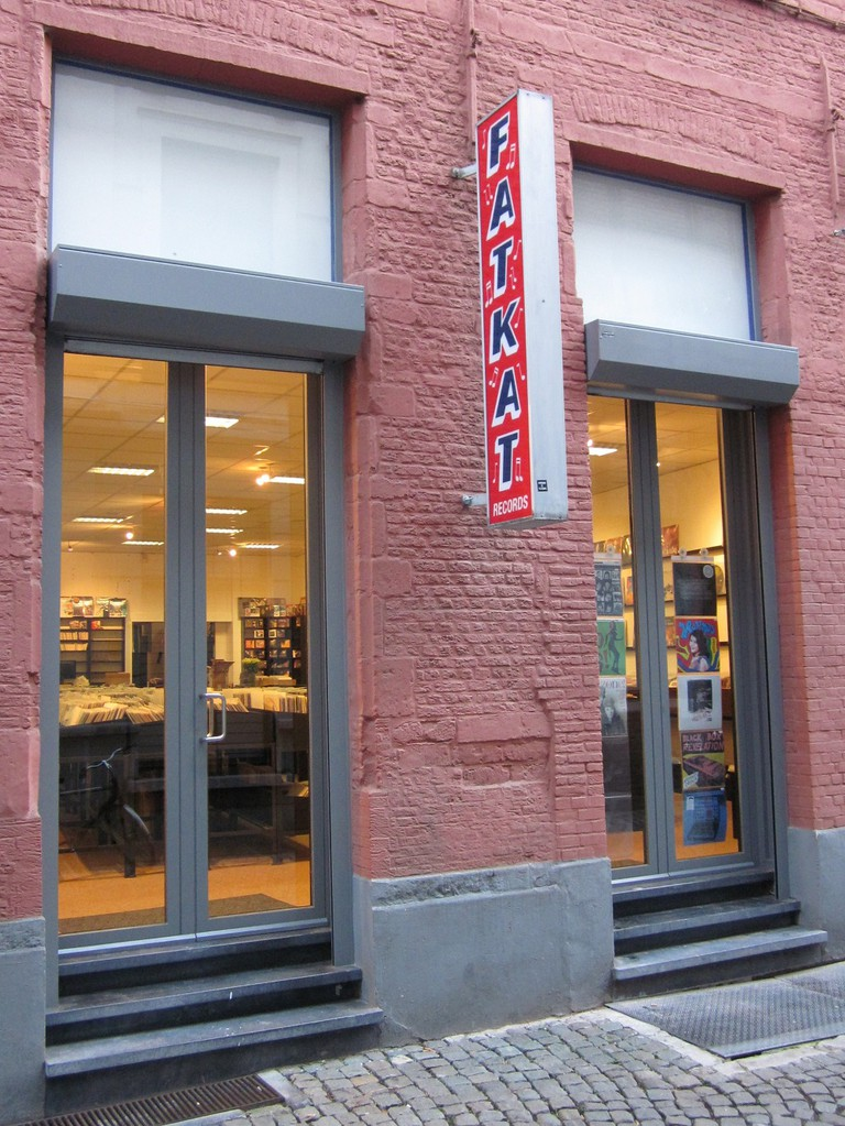 The new store front of Fatkat Records