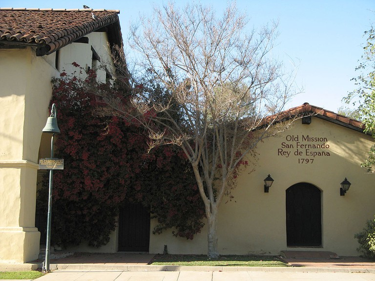 Mission San Fernando Rey de España © Geographer/Wikimedia