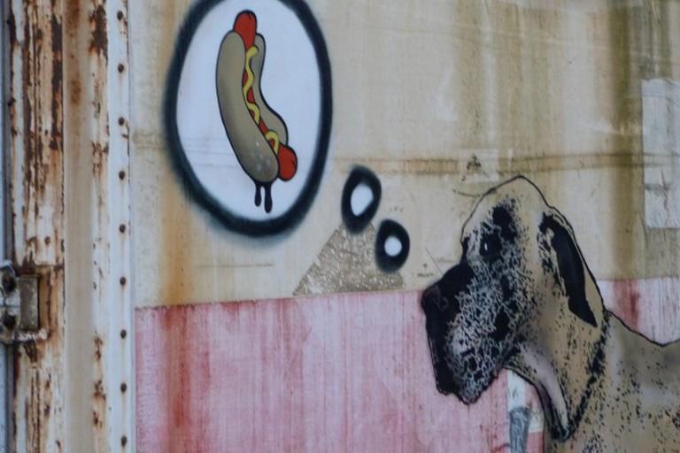 Hot Dog and Dog | © Gordon Joly / Flickr