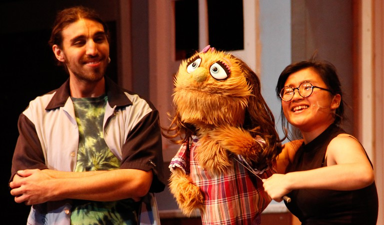 Avenue Q rehearsals   © The Skyline View/Flickr