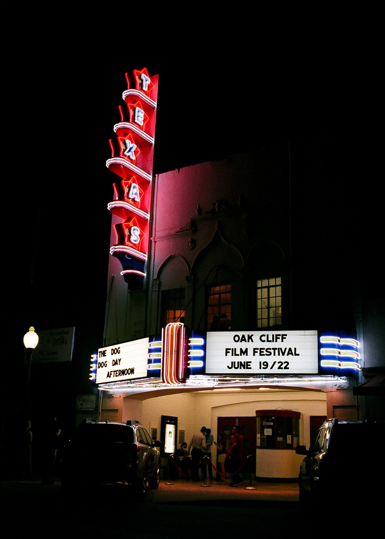 Texas Theatre is a historical landmark and spot to watch indie films