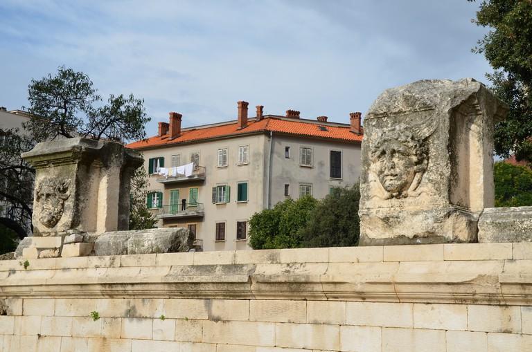 Roman ruins in Zadar | © Carole Radatto/Flickr