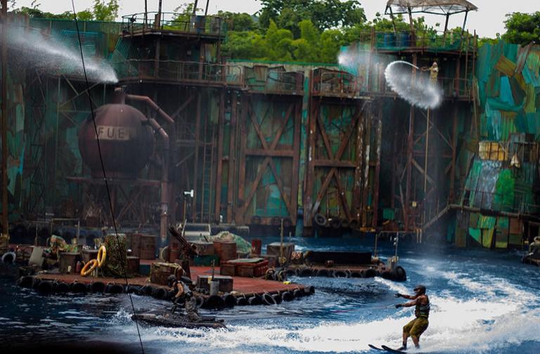 Universal Studios water show © Jishu Thomas/Flickr