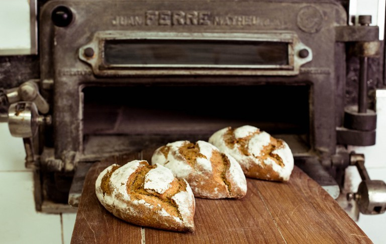 A fresh loaf straight from the Cloudstreet oven | Courtesy of Cloudstreet bakery