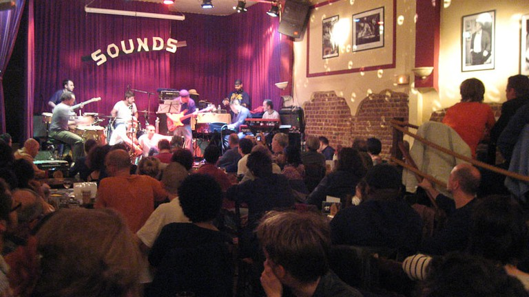 Live music at Sounds Jazz Club