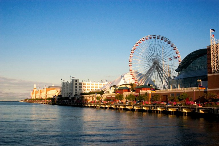 The Navy Pier Ferris Wheel | © David Bjorgen/Wikicommons