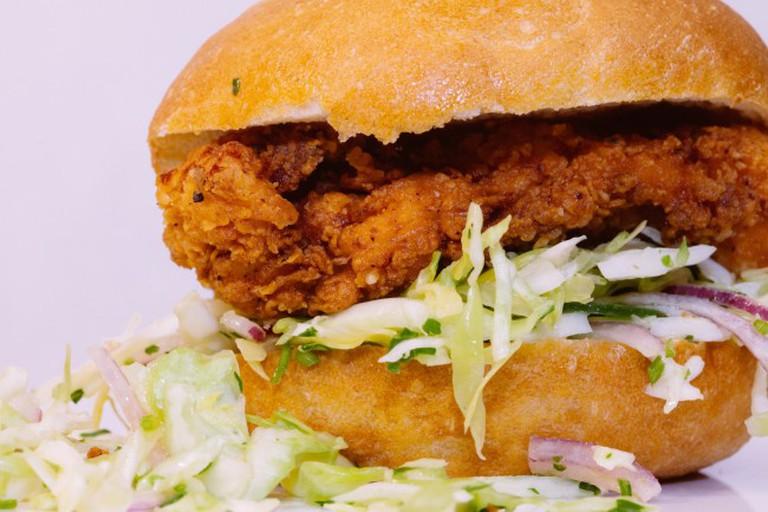 Bakesale Betty Chicken Sandwich © Sonny Abesamis/Flickr