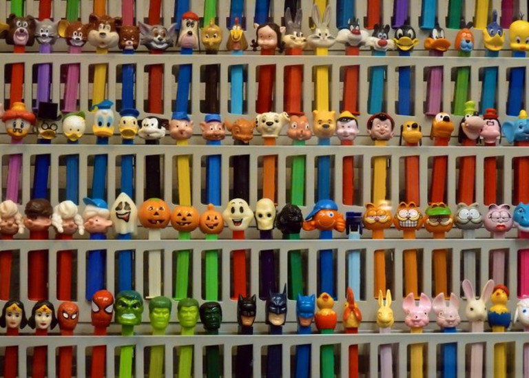 Burlingame Museum of Pez Memorabilia © Ingrid Taylar/Flickr