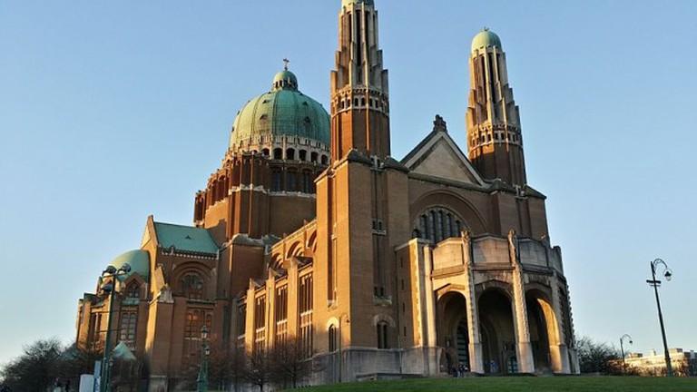 Basilica of the Sacred Heart at Koekelberg, Brussels, Belgium  WikiCommons