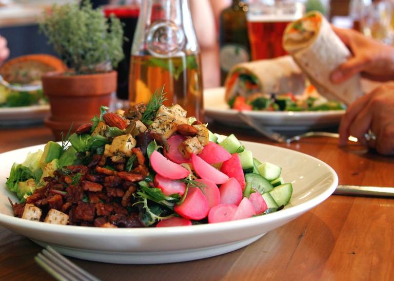 M Cafe's Chopped Salad.