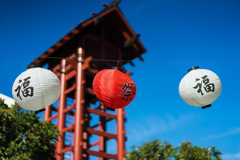 Little Tokyo lanterns © Mark Fischer/Flickr