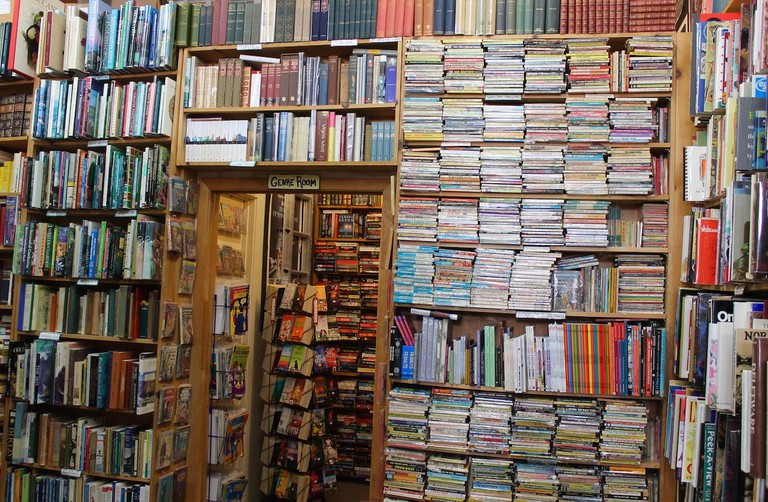 New and used books from floor to ceiling at Russian Hill Bookstore