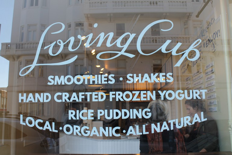 Smoothies, Shakes, Rice Pudding and Frozen Yogurt at Loving Cup