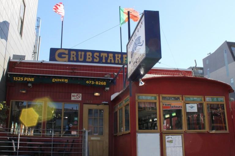 The legendary Grubstake Stake Ⅱ established in 1967 © Amanda Walker-Storey