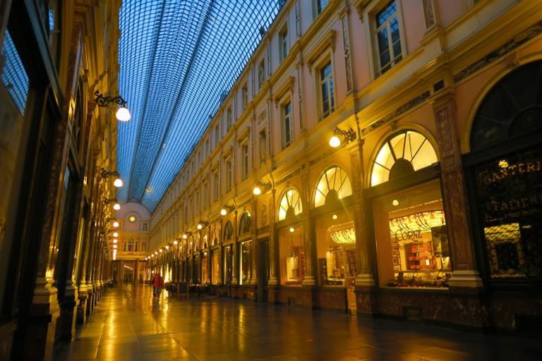 Les Galeries Royales Saint-Hubert   © Mattias Hill/ WikiCommons