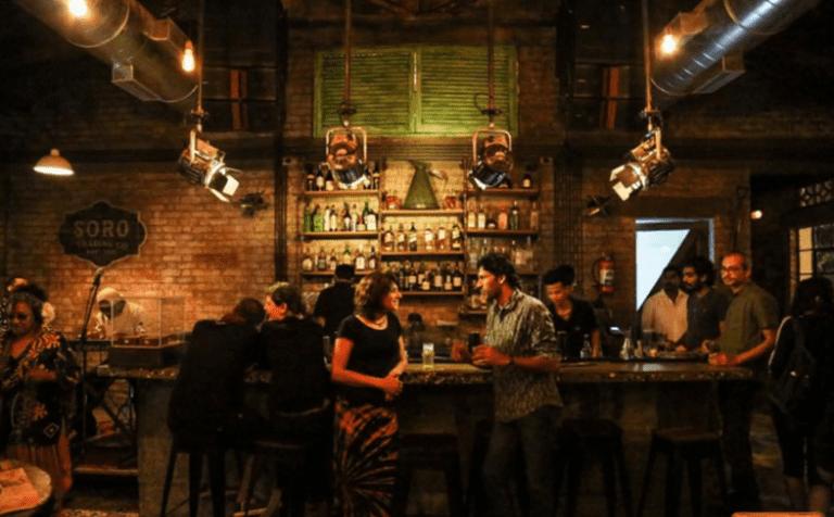 Interior, Soro Pub. Image Courtesy: Zomato