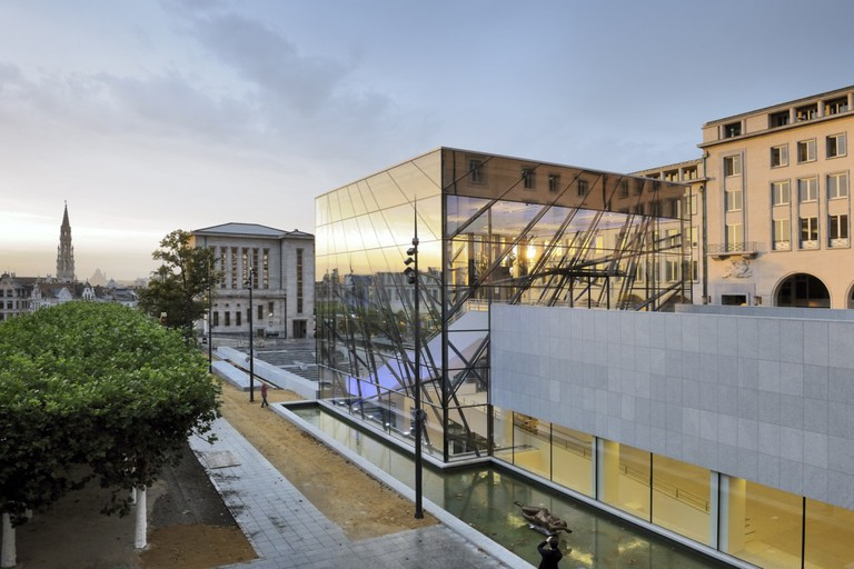 Square Brussels Meeting Centre/© A2RC ARCHITECTS - G. De Kinder/Courtesy of A2RC ARCHITECTS
