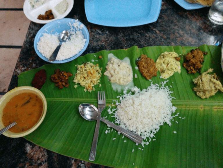 Thali at Taste of Kerala, Fort. Image Courtesy Zomato