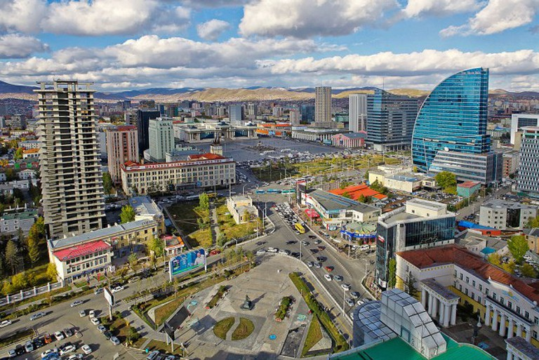 Downtown Ulaanbaatar | © Zazaa Mongolia/WikiCommons