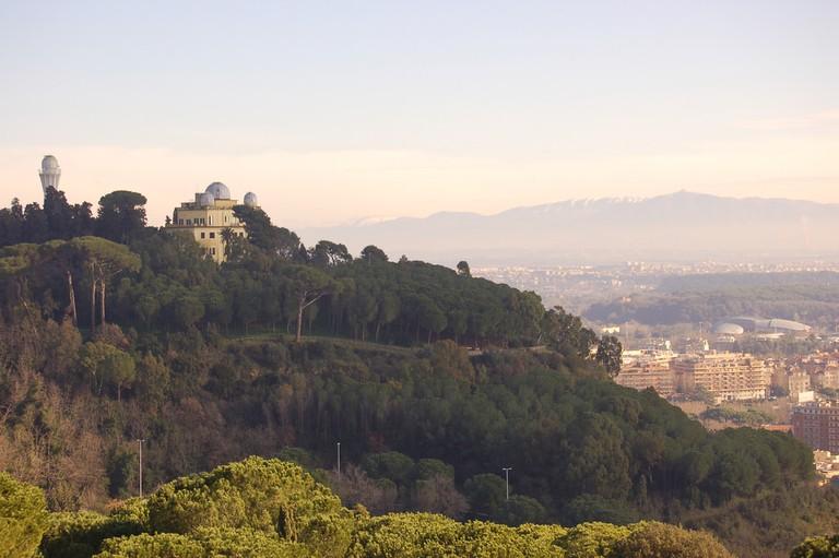 View from La Pergola