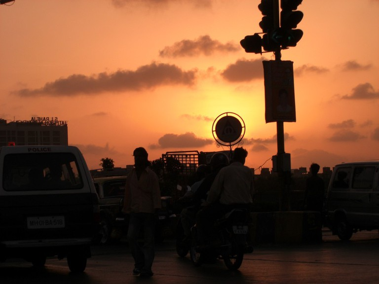 Mumbai during Sunset | ©Swaminathan/Flickr