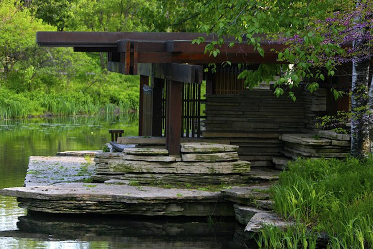 Alfred Caldwell Lily Pool | © John Talley/Flickr