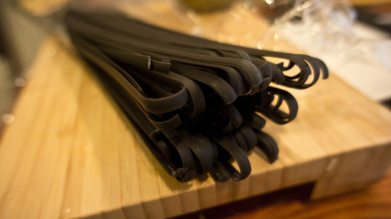 Squid Ink Spaghetti   © Ruocaled/Flickr