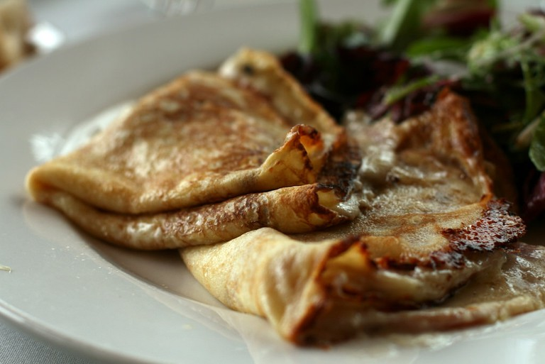 Crepes from Bacchus Bistro