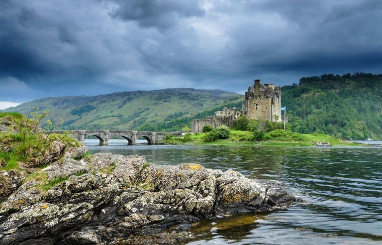 Eilean Donan Castle, Scotland   Courtesy Eilean Donan Castle