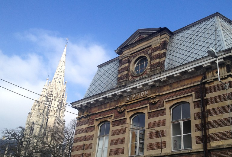 View on the Church of Our Lady from the Old Station of Laeken © Patricia Fridrich