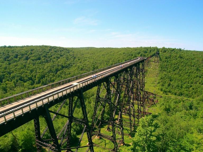 Kinzua Sky Walk, Pennsylvania, USA | Courtesy ANF Visitors Bureau
