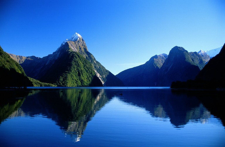 Mitre Peak, Milford Sound, Fiordland National Park, New Zealand | Courtesy Destination Fiordland