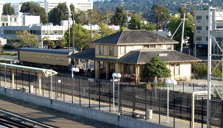 Southern Pacific Depot, 21 E. Millbrae Ave., Millbrae, CA