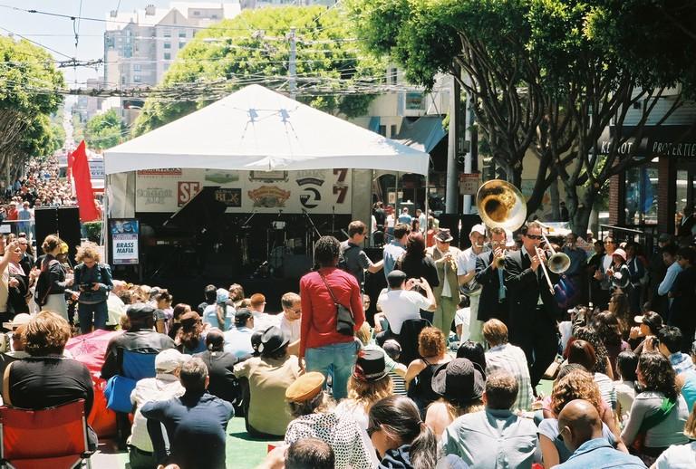 Performance at the Fillmore Jazz Festival   © Charles Wagner aka ChumpChange/Flickr