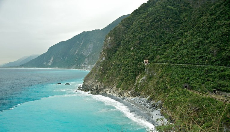 Quingshui Cliff, Taiwan | © Fred Hsu/WikiCommons