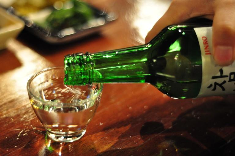 Enjoy a Glass of Soju at Dadam