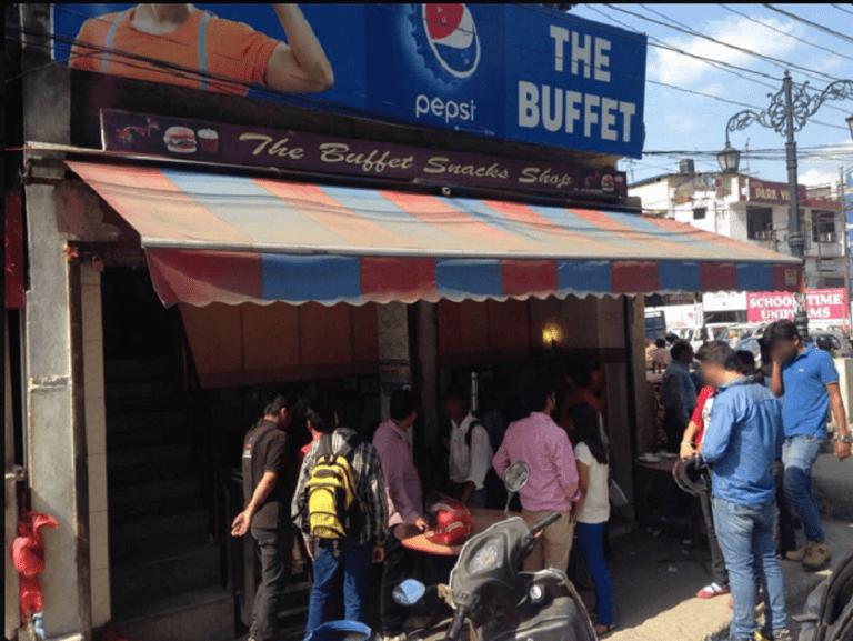 The Buffet Snack Shop, Dehradun. Courtesy of Zomato.