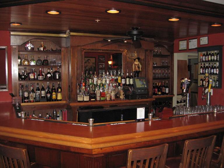 The Westlawn Inn's cozy interior