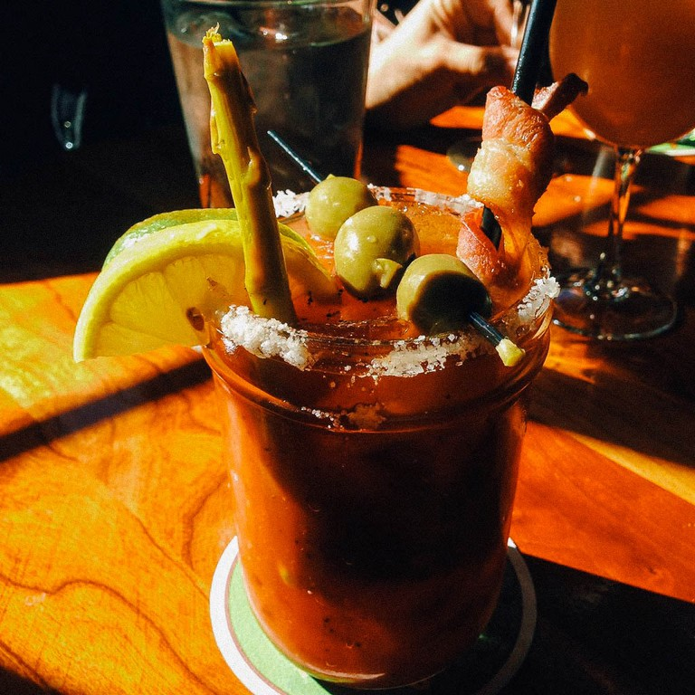 Turnt Up Bloody Mary   © Tanya Wardell
