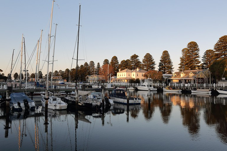 Wharf area in Port Fairy| ©Ed Dunens/Flickr