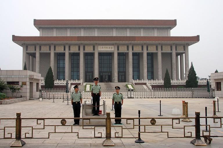 Mao Zedong's mausoleum | © dcastor/WikiCommons