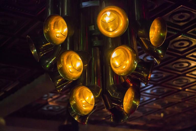 Instrumental Lights in The Blue's Kitchen